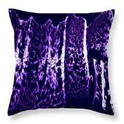 Abstract 67 Throw Pillow by J D Owen