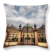 Buchlovice Castle Throw Pillow by Michal Boubin