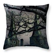 Castle Throw Pillow by Joana Kruse