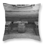 Checkers Game Throw Pillow by Frank Romeo