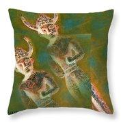 Cyprus Gods Of Trade. Throw Pillow by Augusta Stylianou