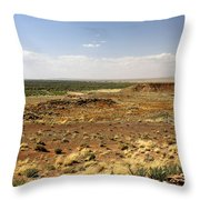 Homolovi Ruins State Park Arizona Throw Pillow by Christine Till