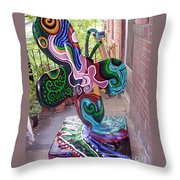 Le Mileau Mode Throw Pillow by Genevieve Esson