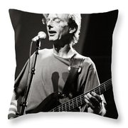 Phil Lesh Throw Pillow by Chuck Spang