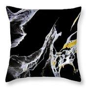 Abstract 35 Throw Pillow by J D Owen
