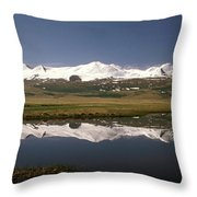 Altay Throw Pillow by Anonymous