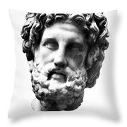 Asklepios Throw Pillow by Granger