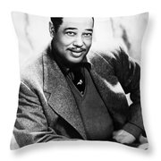 Duke Ellington (1899-1974) Throw Pillow by Granger