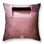 Ferrari Hood Emblem Throw Pillow by Jill Reger