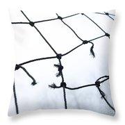 Goal Throw Pillow by Bernard Jaubert