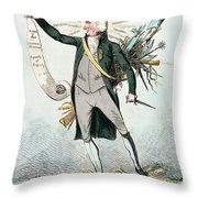 Thomas Paine (1737-1809) Throw Pillow by Granger