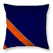 Denver Broncos Throw Pillow by Joe Hamilton