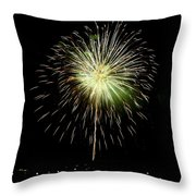 4th Of July 2 Throw Pillow by Marilyn Hunt