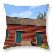 Farmhouse Throw Pillow by Frank Romeo