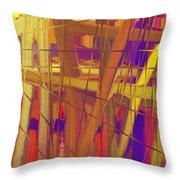 Schreien Throw Pillow by Sir Josef - Social Critic - ART
