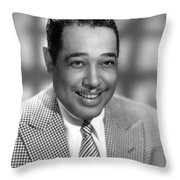 Duke Ellington (1899-1974) Throw Pillow by Granger