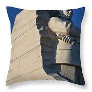 Martin Luther King Jr. Memorial Throw Pillow by Allen Beatty