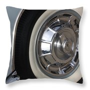61 Corvette-grey-wheel-9236 Throw Pillow by Gary Gingrich Galleries