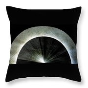 720 Pi Half Rainbow Throw Pillow by Jason Padgett