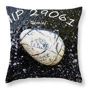Barack Obama Star Throw Pillow by Augusta Stylianou