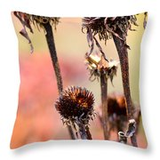 Wilted Flower  Throw Pillow by Toppart Sweden