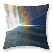 9-11 Memorial Throw Pillow by Dan Sproul