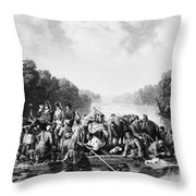 Francis Marion (1732?-1795) Throw Pillow by Granger