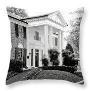 A Bit of Graceland Throw Pillow by Julie Palencia