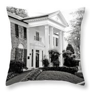 A Bit Of Graceland Throw Pillow by Julie Palencia