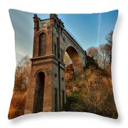 A Bridge No More Throw Pillow by Mountain Dreams
