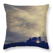 A Calm Sets In Throw Pillow by Laurie Search
