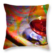 A Cognac Night 20130815 Throw Pillow by Wingsdomain Art and Photography