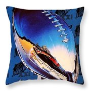 A Giant Victory Throw Pillow by Benjamin Yeager