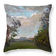 A Little Break From The Rain Throw Pillow by Ylli Haruni