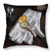 A Night At The Opera Throw Pillow by Lee Avison