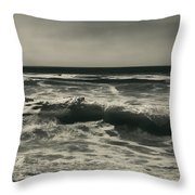 A Permanent Sadness Throw Pillow by Laurie Search