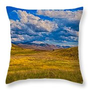 A River Ran Through It Throw Pillow by Omaste Witkowski