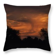 A Spectacular Sunrise Throw Pillow by Thomas Woolworth