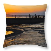 A Time to Reflect Throw Pillow by Frozen in Time Fine Art Photography