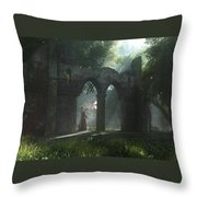 A Touch Of Magic Throw Pillow by Melissa Krauss