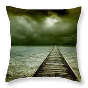 A Way Out Throw Pillow by Photodream Art