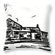 A Winter Dream 3 Throw Pillow by Steve Harrington