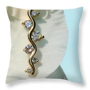 A Womans Friend Throw Pillow by Steve Augustin