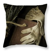 A Woman's Touch Throw Pillow by Amy Weiss