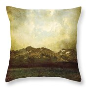 Ab Antiquo I Throw Pillow by Brett Pfister