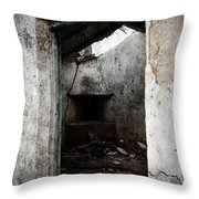 Abandoned Little House 1 Throw Pillow by RicardMN Photography