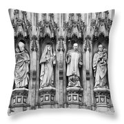 Abbey Overseers Throw Pillow by Christi Kraft