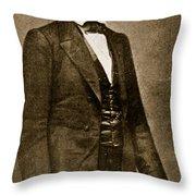 Abraham Lincoln Throw Pillow by Mathew Brady