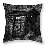 Absorbed By Time Throw Pillow by Thomas Young