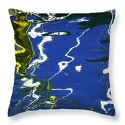 Abstract 12 Throw Pillow by Xueling Zou